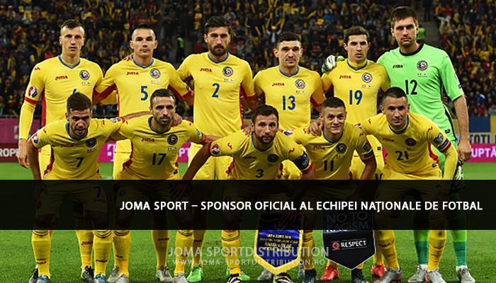 joma sponsor al echipei nationale de fotbal romania