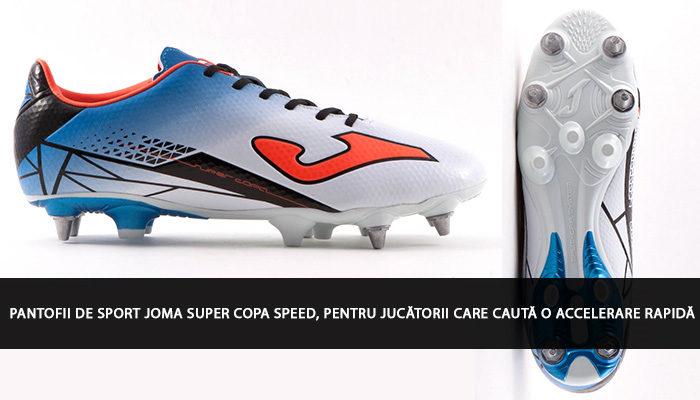 Pantofii de sport Joma Super Copa Speed, pentru jucătorii care caută o accelerare rapidă