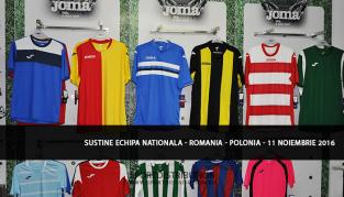 Sustine Echipa Nationala in meciul Romania - Polonia