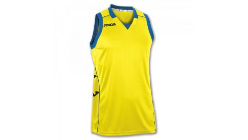 TRICOU CANCHA II YELLOW-BLACK SLEEVELESS