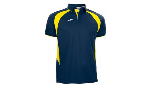 POLO CHAMPION III NAVY-YELLOW S/S