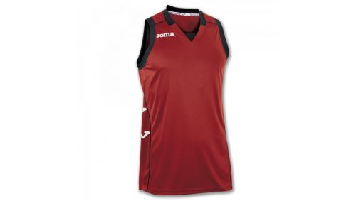 TRICOU CANCHA II RED-BLACK SLEEVELESS