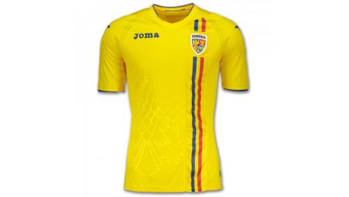 1ST T-SHIRT F.F. ROMANIA YELLOW S/S