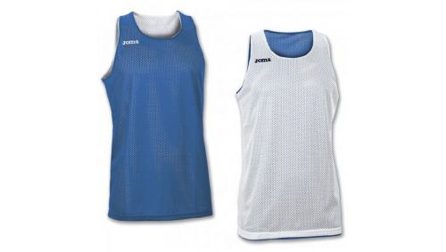 TRICOU REVERSIBIL  ARO ROYAL-WHITE SLEEVELESS