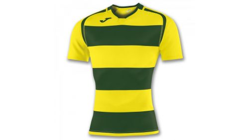 TRICOU PRORUGBY II GREEN-YELLOW S/S