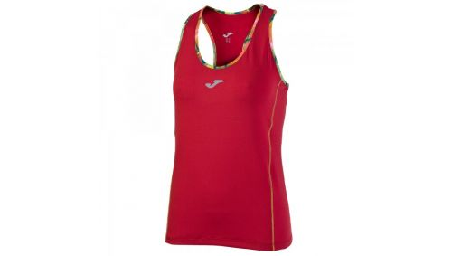 TRICOU RUNNING RED SLEVEELESS