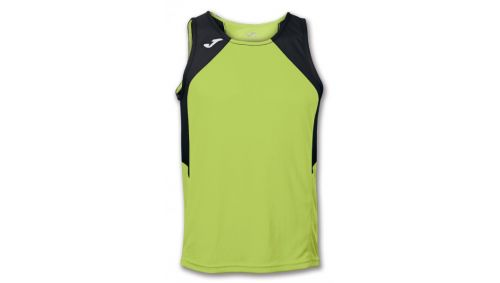 TRICOU RECORD GREEN-BLACK SLEEVELESS