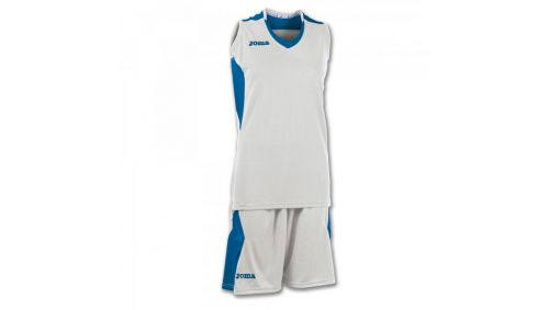 SET BASKET SPACE WHITE-ROYAL SLEEVELESS W.