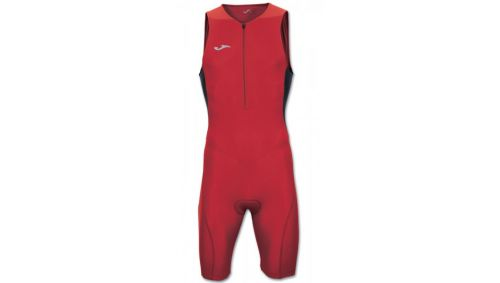 BODY DUATHLON RED-BLACK SLEEVELESS