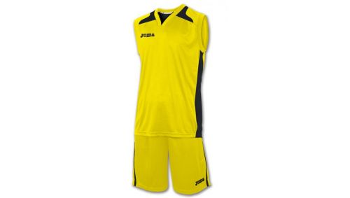 SET CANCHA YELLOW JERSEY+SHORT