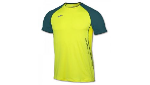 TRICOU RUNNING YELLOW S/S