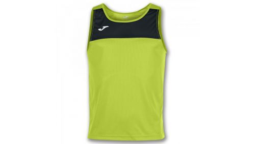 TRICOU RACE LIME-BLACK SLEEVELESS