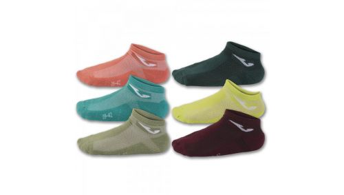 INV SOCKS 2CORAL-GRE-BROW-LIME-OLI-BLU -PACK 12-