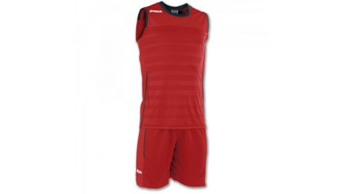 SET SPACE II RED SLEEVELESS