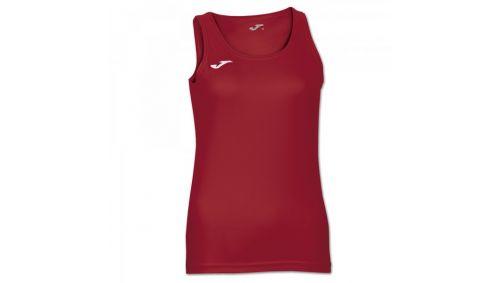 DIANA SLEEVELESS WOMEN SHIRT RED