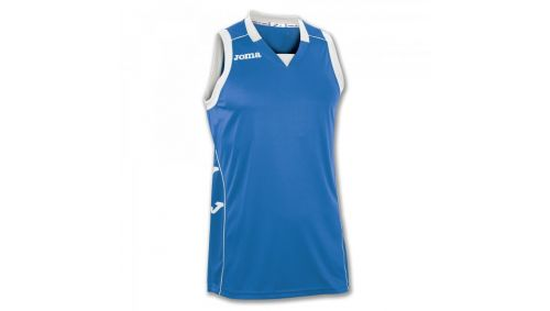 TRICOU CANCHA II ROYAL-WHITE SLEEVELESS
