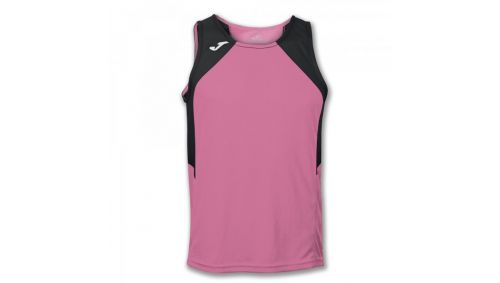 TRICOU RECORD PINK-BLACK SLEEVELESS