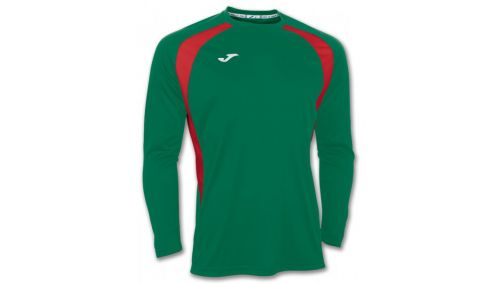 TRICOU CHAMPION III GREEN-RED L/S