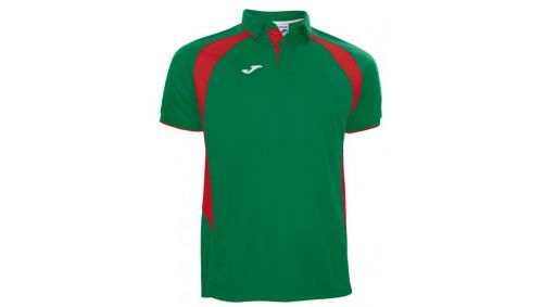 POLO CHAMPION III GREEN-RED S/S