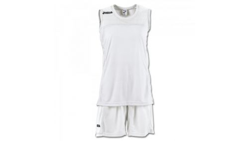 SET SPACE II WOMAN WHITE SLEEVELESS
