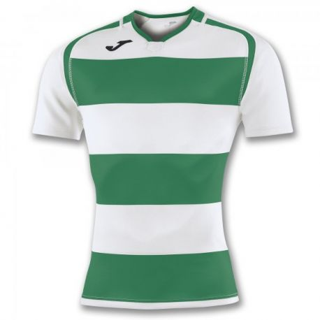 TRICOU PRORUGBY II GREEN-WHITE S/S
