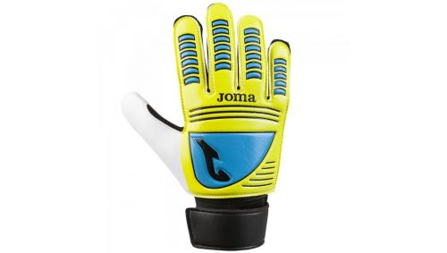 GOALKEEPER GLOVES YELLOW-TURQUOISE-BLACK