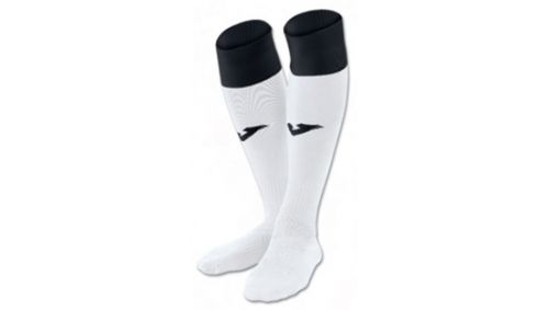 FOOTBALL SOCKS CALCIO 24 WHITE-BLACK -PACK 4-