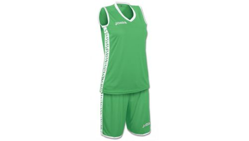 SET PIVOT WOMAN GREEN JERSEY+SHORTS