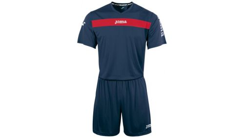 ACADEMY S/S SET (TRICOU+SORT) NAVY-RED