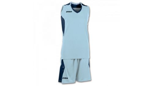 SET BASKET SPACE SKY BLUE-NAVY SLEEVELESS W.