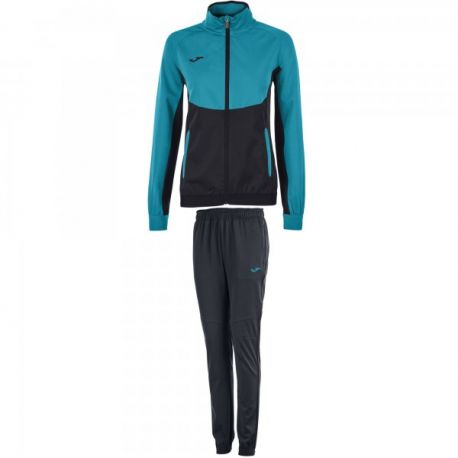 TRENING ESSENTIAL MICRO BLACK-TURQUOISE WOMAN