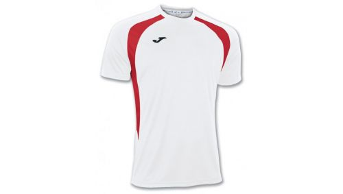 TRICOU CHAMPION III WHITE-RED S/S