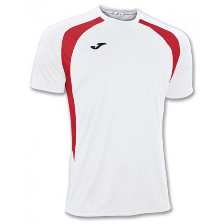 TRICOU CHAMPION III WHITE-RED S/S