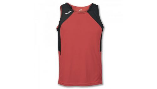 TRICOU RECORD ORANGE-BLACK SLEEVELESS