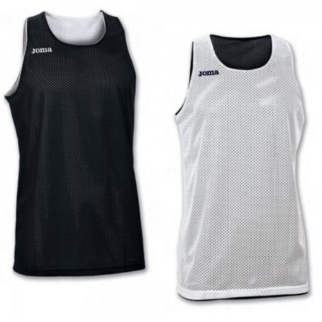 TRICOU REVERSIBIL  ARO WHITE-BLACK SLEEVELESS