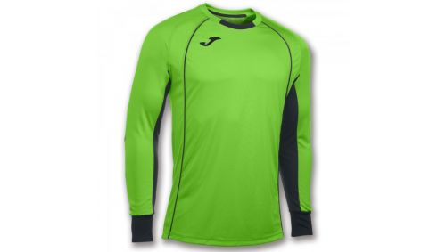 TRICOU GOALKEEPER PROTEC GREEN FLUOR L/S
