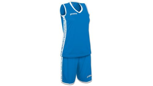 SET PIVOT WOMAN BLUE JERSEY+SHORTS