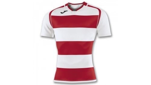 TRICOU PRORUGBY II RED-WHITE S/S
