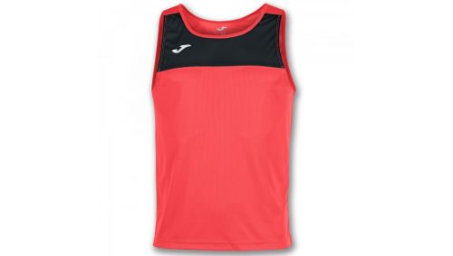 TRICOU RACE CORAL-BLACK SLEEVELESS