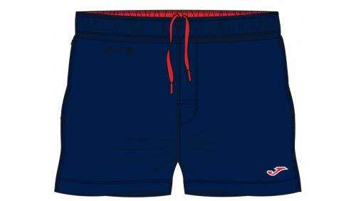 COSTUM DE BAIE NAVY-RED