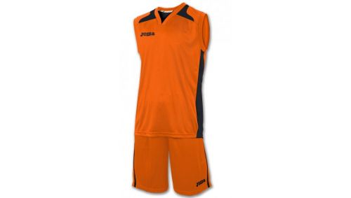 SET CANCHA ORANGE JERSEY+SHORT
