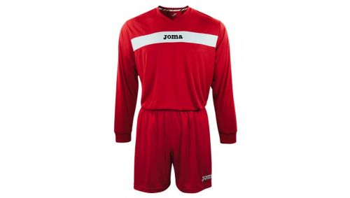 ACADEMY L/S SET (TRICOU+SORT) RED-WHITE