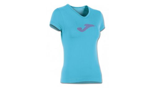 TRICOU TURQUOISE-PURPLE S/S (JAQUARD)