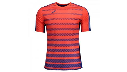 TRICOU TENNIS ROYAL-ORANGE S/S