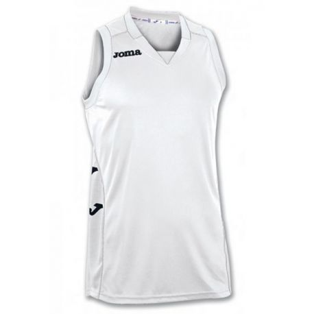 TRICOU CANCHA II WHITE SLEEVELESS