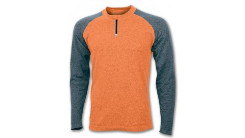 TRICOU SKIN ORANGE-BLACK L/S