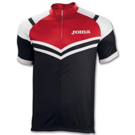 TRICOU CYCLING BLACK-RED