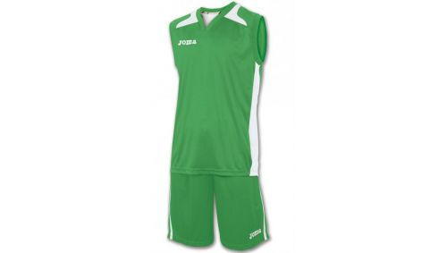 SET CANCHA GREEN JERSEY+SHORT