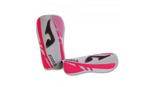 SHINGUARDS SOFT WHITE-FUCHSIA