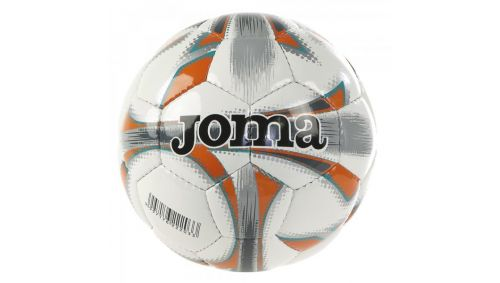 DALI SOCCER BALL WHITE-ORANGE T5